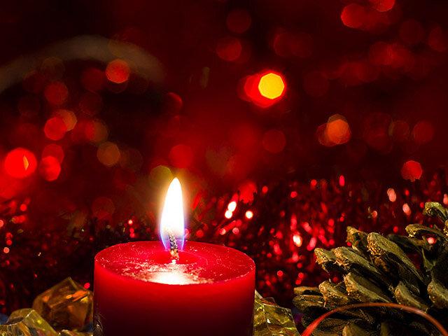 Kerze und Kegeln